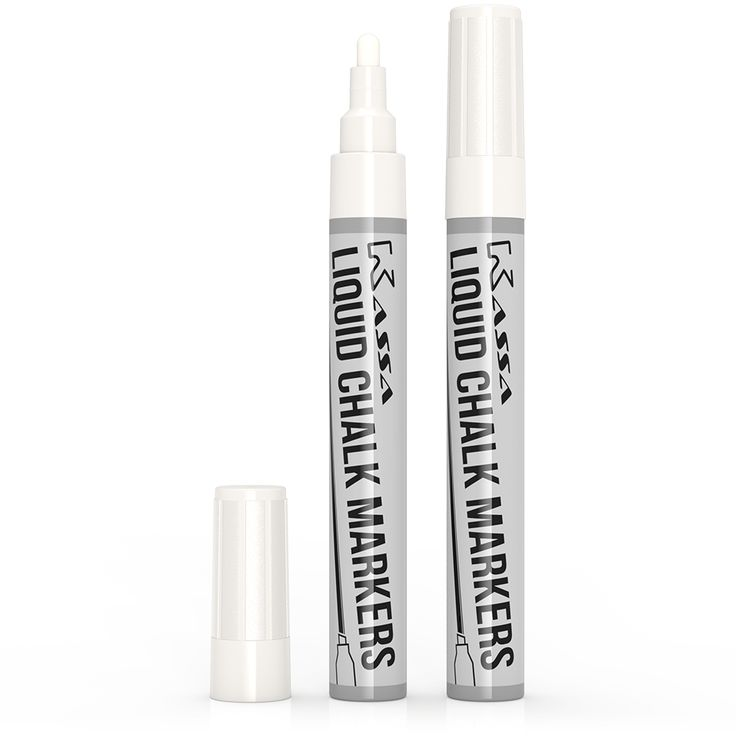 White Liquid Chalk Markers (2 Pack)