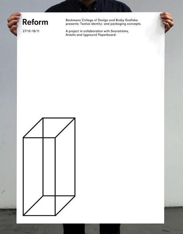 Minimal Poster Design. Minimalist Graphic ... Amazing Design