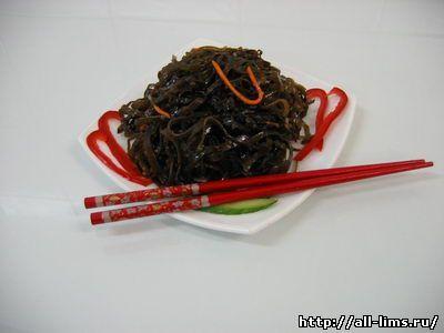 Салат из морской капусты. - 4.1. Корейские салаты. - 4. Корейская кухня. - Каталог нашей информации - Сообщество Лим. Культура и традиции Кореи