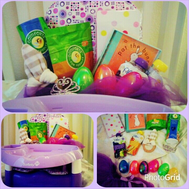 20 best pretty little hampers images on pinterest baskets easter basket of sorts for a 9 month old girl tried to make negle Images