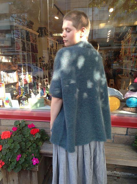 Ravelry: threebagsfull's Modern Wrapper