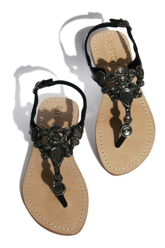 Black patent leather sandals: Shoes Boots Sandals, Black Patent Leather, Fancy Gems, Style, Black Leather, Black Sandals, Leather Sandals, Shoes Shoes