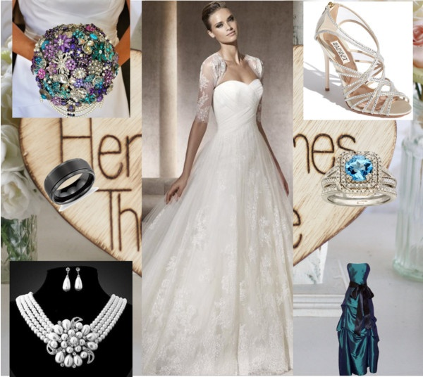 wedding, created by sarahutton on Polyvore