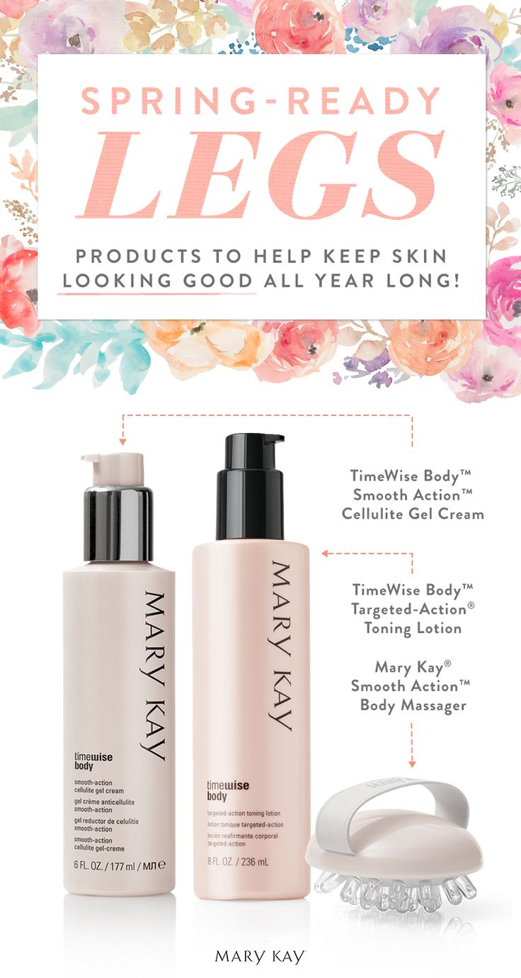 It's the season to show a little skin! Pamper your legs with a toning lotion that helps skin look more firm, toned and defined, and a cellulite solution so effective, 9 out of 10 women liked what they saw in the mirror.* | Mary Kay