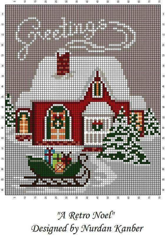 Season's Greetings Cross Stitch