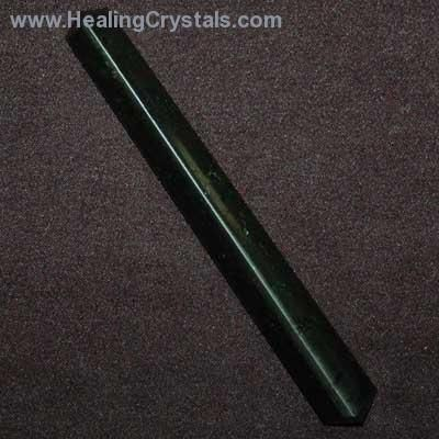 Black Tourmaline DT Trillion Wands Black Tourmaline aligns the Chakras www.HealingCrystals.com