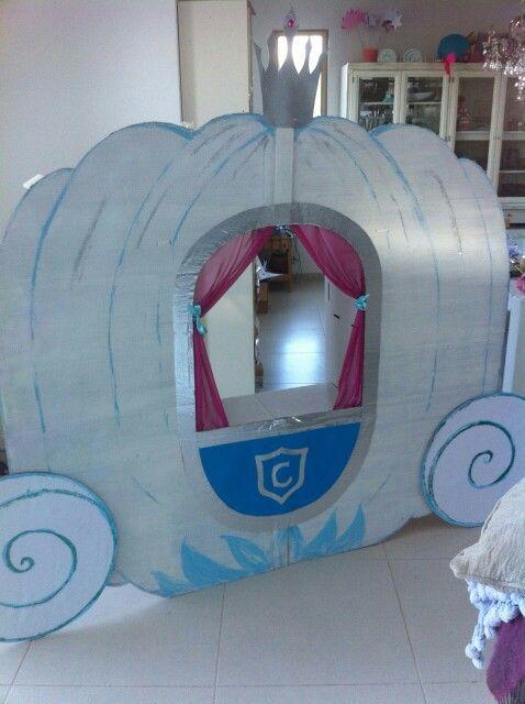 Cinderella coach photobooth