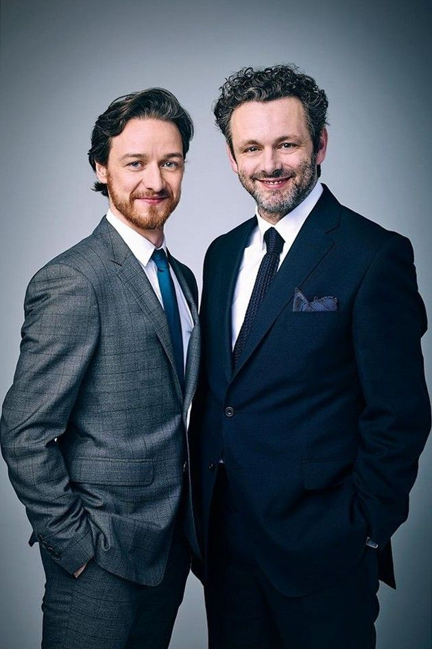 Michael Sheen and James McAvoy