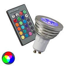 RGB GU10 Leuchtmittel mit Fernbedienung: #Leuchtmittel #RGB