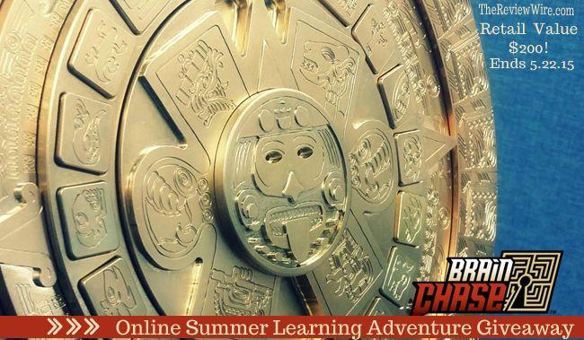 Brain Chase Online Summer Learning Adventure {Program Giveaway: rv $199} Ends 5.22.15 #AdventureLearning #BrainChase