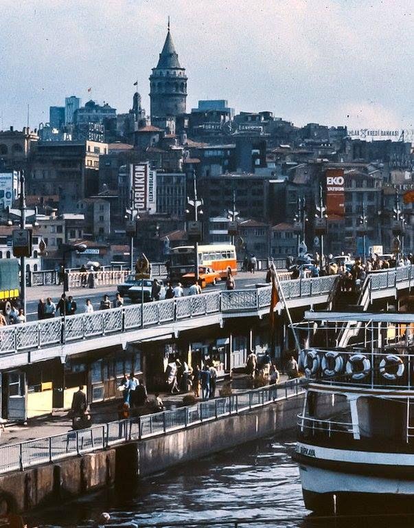 Eski İstanbul: Galata Köprüsü 1978-82 arası