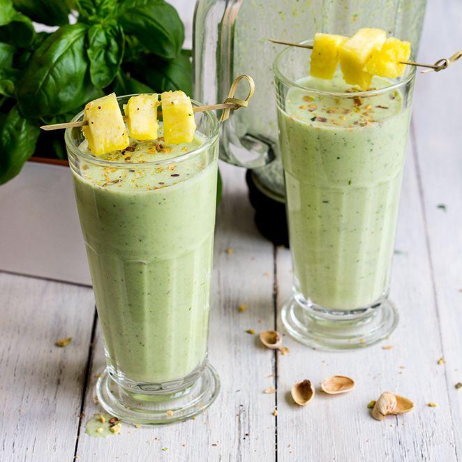 Frullato basilico e ananas - Springlane Magazine