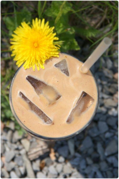 Healthy protein low calorie ice coffee.  Sunn protein lavkalori iskaffe.