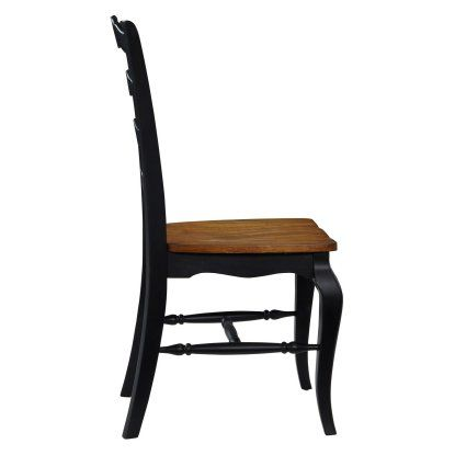 Home Styles The French Countryside Oak Dining Chairs - Set of 2