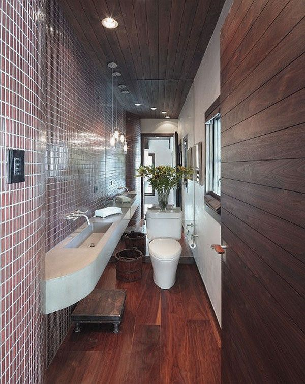 Bathroom Ideas Long Narrow Space 23 best design ideas for narrow rooms images on pinterest