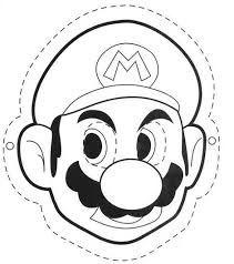 Kleurplaat Mario Party • Kidkleurplaat.nl
