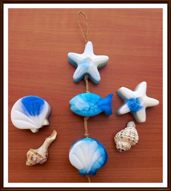 BEACH SOAPS  Baby shower soaps  Soap Favors  by StarSoapsbyIvana