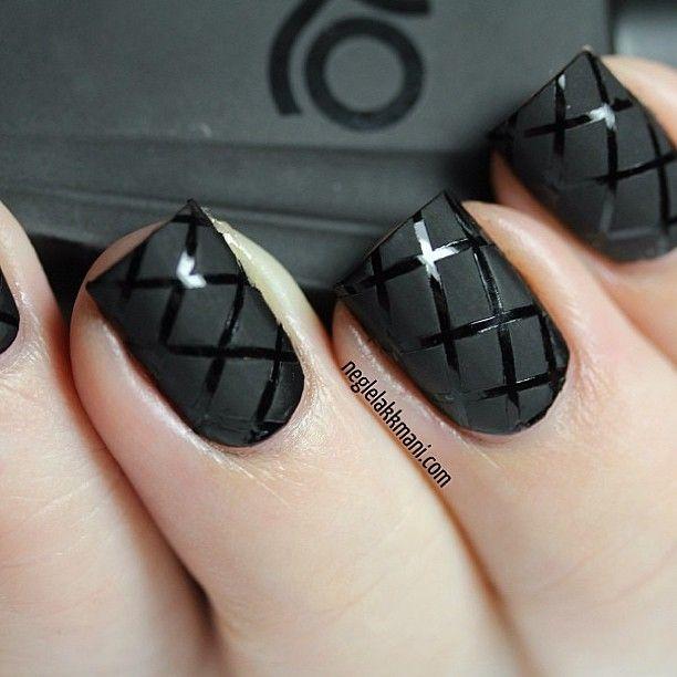 67 best Nail Art - Matte VS. Glossy images on Pinterest | Dots, Nail ...