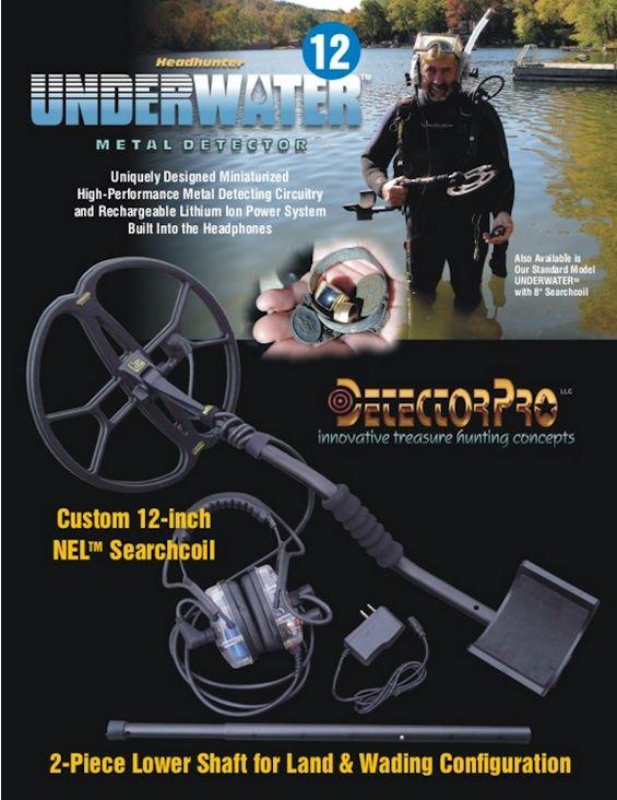 DetectorPro Headhunter Underwater Metal Detector