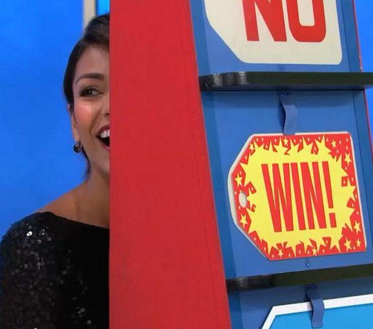 'The Price Is Right' model Manuela Arbelaez accidentally gives away car Manuela Arbelaez  #ManuelaArbelaez