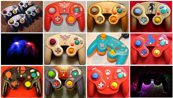 Custom GameCube Controllers by GCS