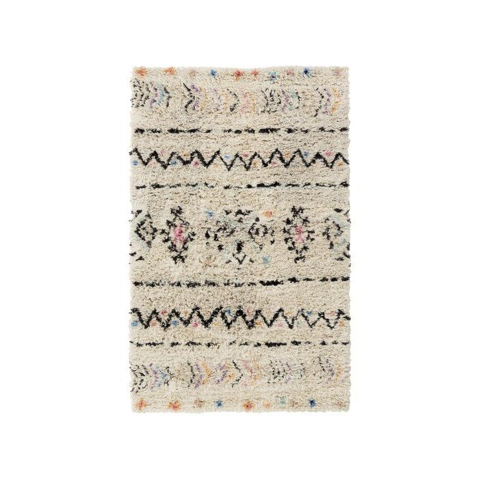 Hylton Hand-Knotted Wool Neutral Area Rug In 2019