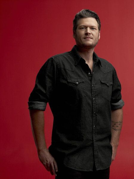 Blake Shelton -4th year of Male Vocalist of the Year at the CMA's 2013