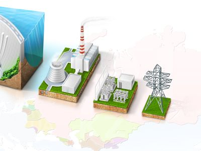 Set of Energy Sources by Octoberweb