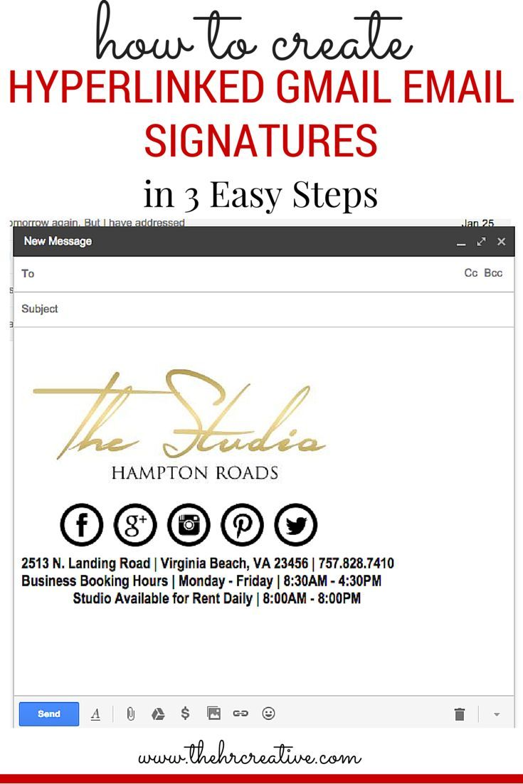 1000 ideas about email signatures on pinterest mail for Free email signature template