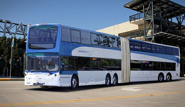 Double Deck Articulated Bus This Would Be Ideal For The Brisbane