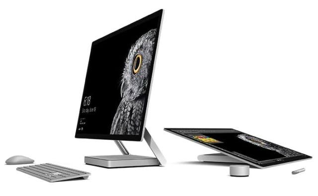With #Surface Studio all-in-one #computer, #Microsoft intends to aim at the #iMac