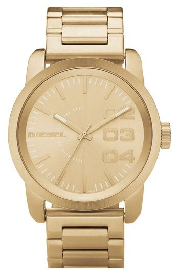 DIESEL® Large Round Bracelet Watch available at #Nordstrom
