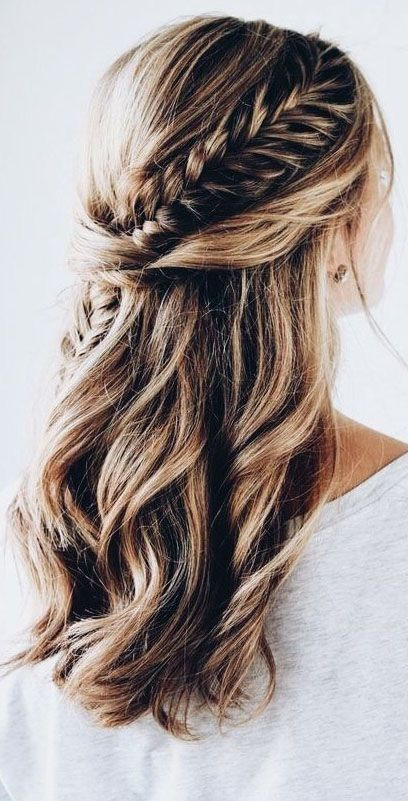 Beautiful wedding hairstyle and bridesmaid hairstyles #