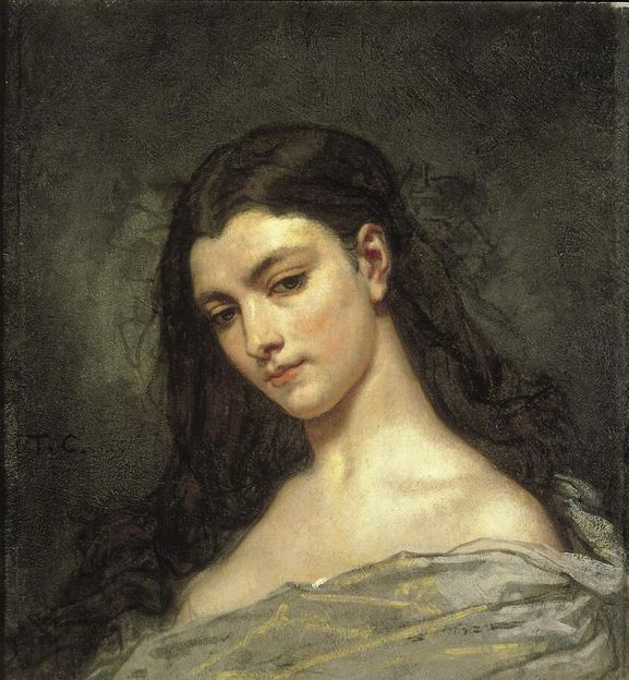 Thomas Couture, Reverie, 1840-41  From the Norton Simon Museum: