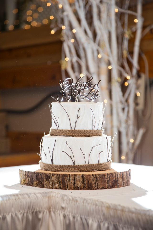 Hooked for Life Wedding Cake Topper!   Rustic Wedding   Fishing Wedding