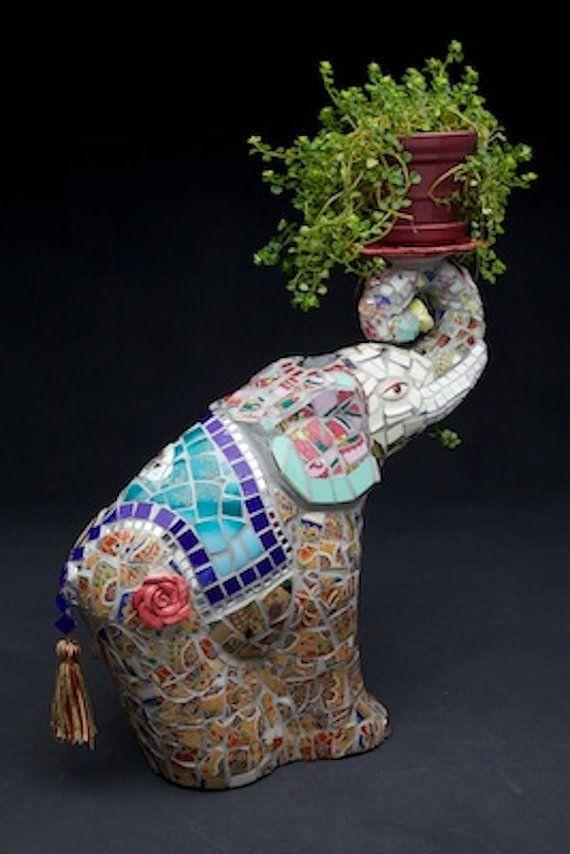 Elephant mosaic