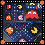 This week's Ludo Game. Emoticon Theme. #ludooftheweek #justnerdstuff #diy #emoticon #smiley #iphone #perler #pixel #pixelart #perlerbeads #beadart #fusebeads #crafting #fiamedknuff #pärlplatta