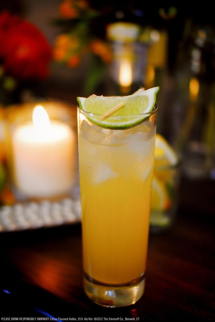 Smirnoff vodka lemonade drink recipe 1 5 oz smirnoff for Flavored vodka mixed drinks