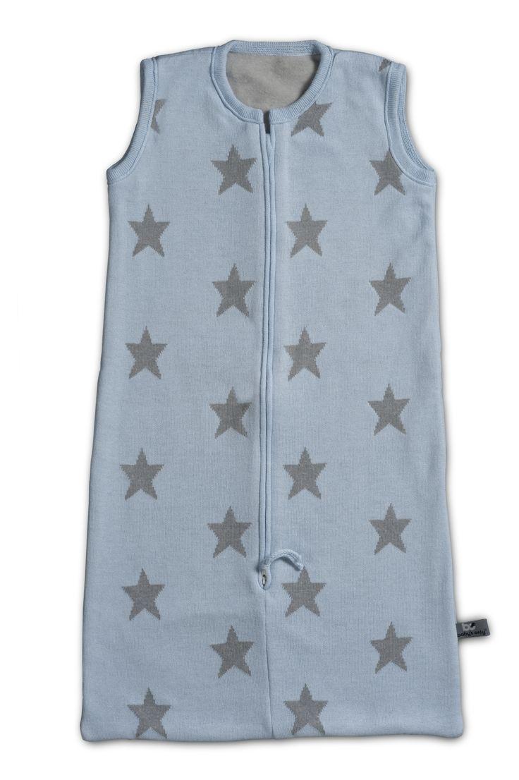 Baby's Only slaapzak ster baby blauw / licht grijs uit de online shop van Babyaccessoires.eu. In allerlei kleuren.