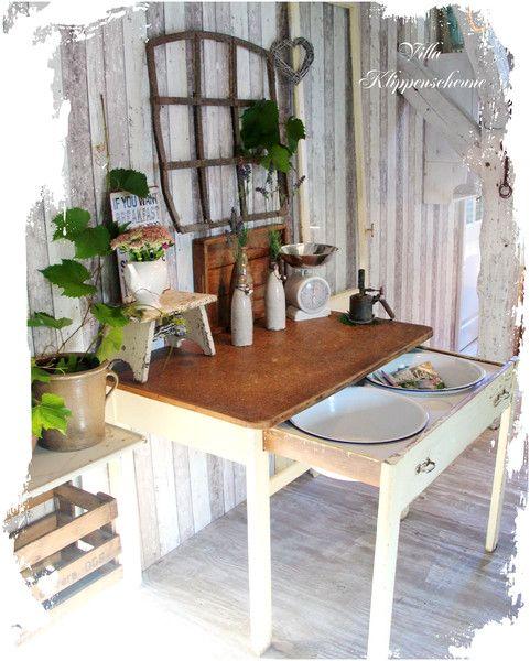 29 besten Tables Bilder auf Pinterest Kiefer küche, Küchentische - küchentisch mit schublade