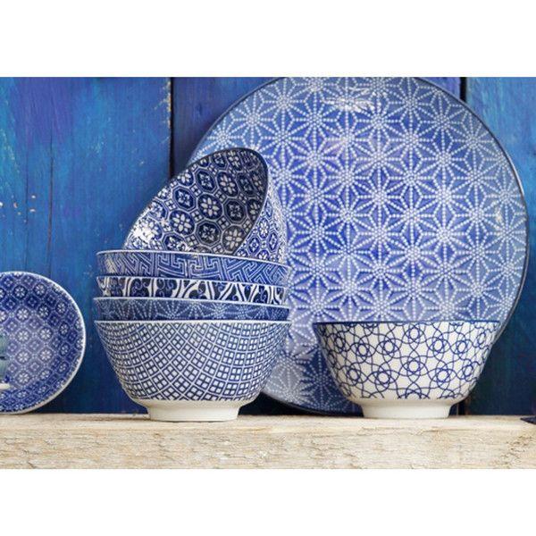 Bol de porcelana Nippon Blue Tokyo Design Studio