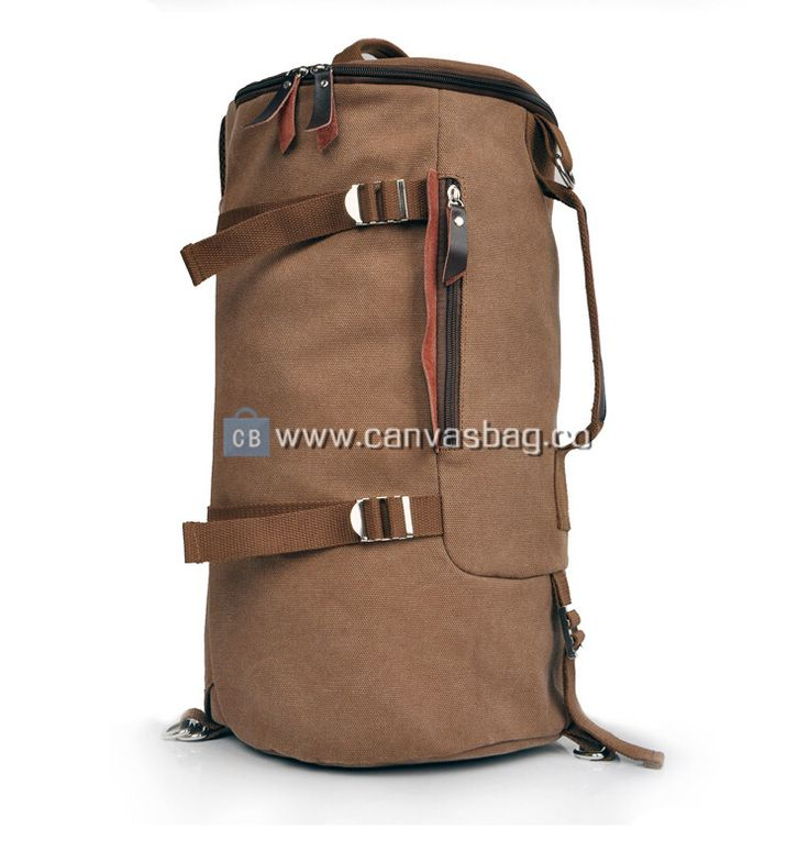 Extra Large Duffel Bags Canvas Duffle Bag Gym Brown