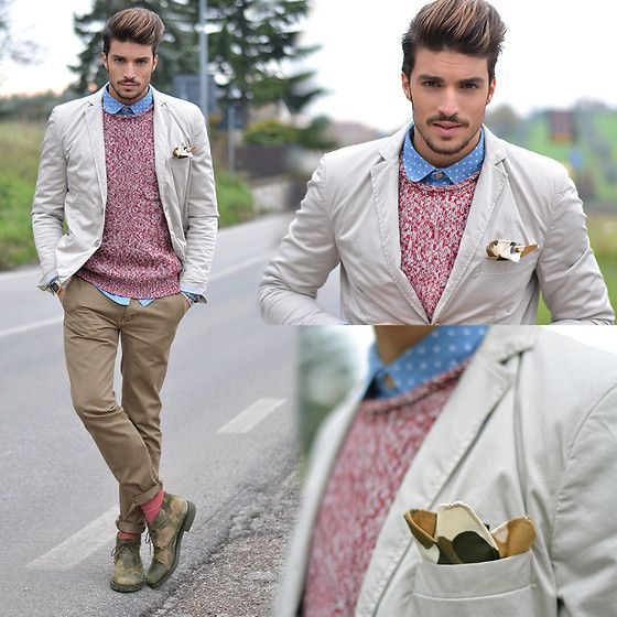 Mariano Di Vaio - Urban Outfitters Blazer, Shoes Camouflage, Urban Outfitters Shirt - NEW YEAR'S EVE.