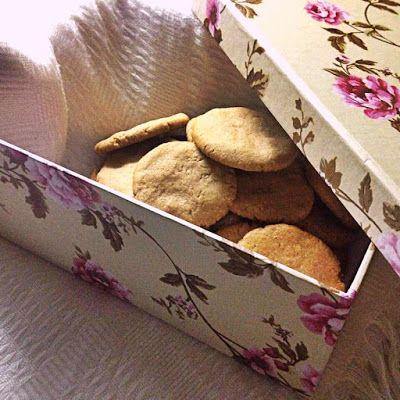 Finomságok Nikitől: Mogyóróvajas keksz