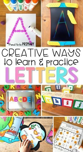 Creative and Engaging Ways to Teach Letter Recognition