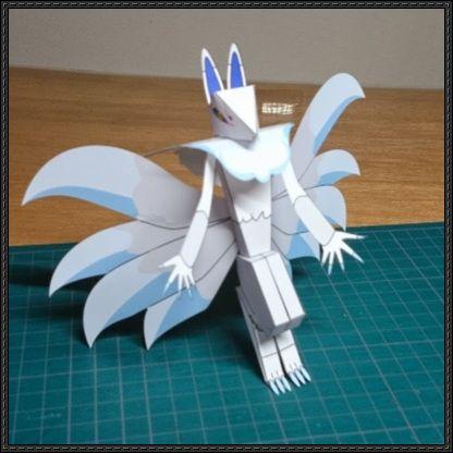 Yo-Kai Watch - Inugami Free Paper Toy Download - http://www.papercraftsquare.com/yo-kai-watch-inugami-free-paper-toy-download.html