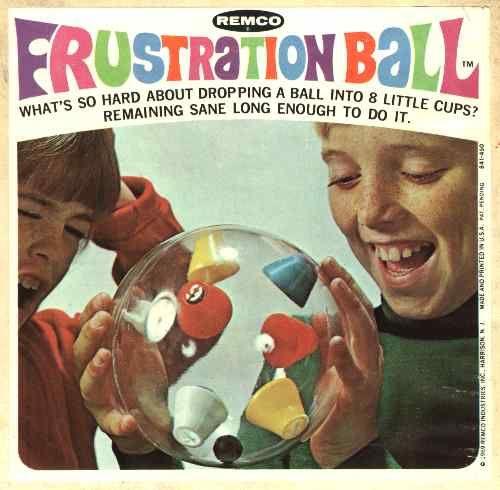 Vintage plastic toy 1968