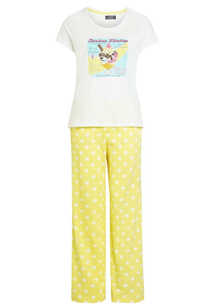 Clothing at Tesco | F&F Ice Cream Sundae Pyjamas > nightwear ...