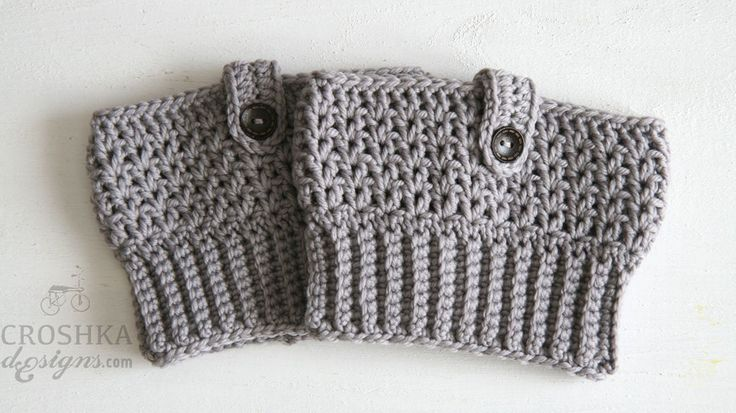 Get cosy in these handmade boot cuffs from Croshka Designs. Made to order - http://bit.ly/28NRfDp #crochet