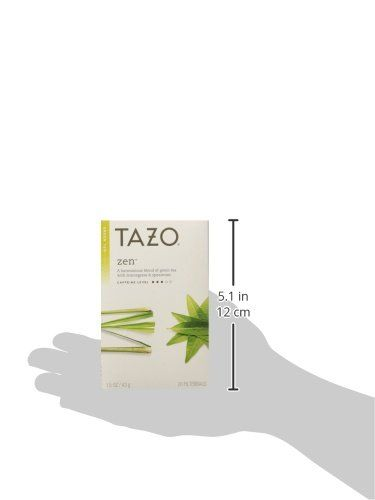 Tazo Zen Green Tea with Lemongrass  #GreenTeaBeverages